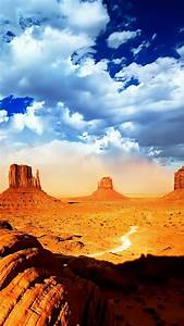 Desert and Beautiful Sky - Best HD Wallpapers For iPhone