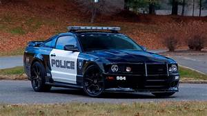 Rare Saleen Mustang S281 Transformers Police Car Headed To Auction