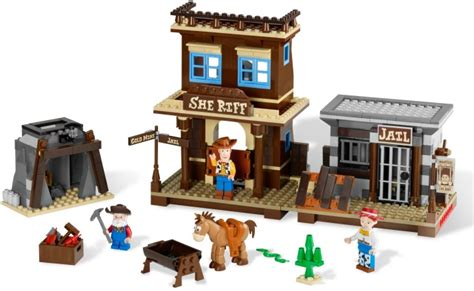 Bricker  Construction Toy By Lego 7594 Woody's Round Up