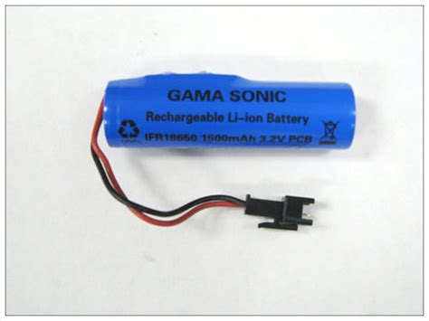 gama sonic replacement battery pack 3 2v 1500mah royal