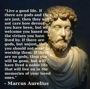 Live a good lif... Marcus Crassus Famous Quotes