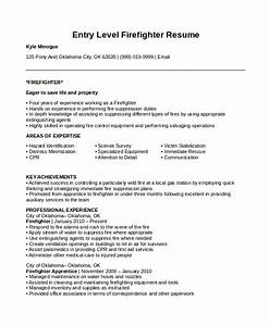 7 firefighter resume templates pdf doc free With firefighter resume