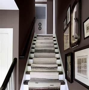 peinture mur escalier dootdadoocom idees de With peindre les contremarches d un escalier en bois 6 renovation escalier la meilleure idee deco escalier en un