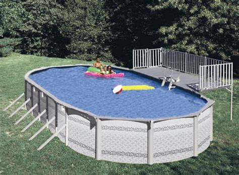 above ground oval pool deck pictures oval above ground pool and side deck
