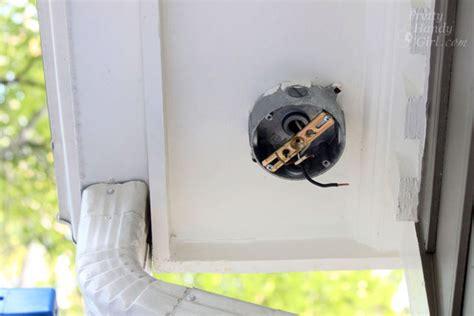 How To Install An Exterior Motion Sensor Light