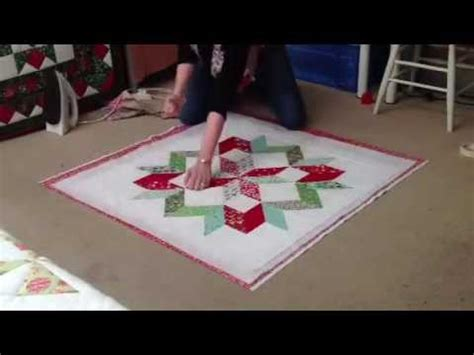 making quilt sandwich youtube