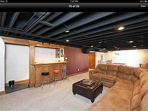 Basement Ceiling Ideas For Low Ceilings - varyhomedesign com