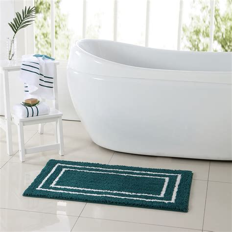 essential home guest 3 pc rug and towel set home bed