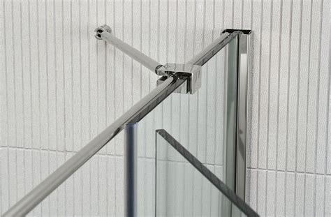 calibe doccia parete doccia di cristallo in nicchia silis