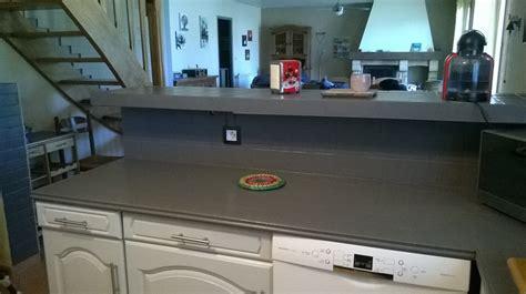 plan de travail cuisine carrelage peindre le carrelage cuisine mur et plan de travail