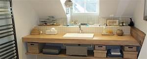 Plan Vasque Bois : impressionnant meuble salle de bain double vasque 140 cm 17 de meuble salle de bain gt ~ Teatrodelosmanantiales.com Idées de Décoration