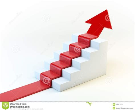 arrow   staircase royalty  stock photography