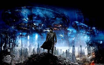 Trek Darkness Into Discovery Sci Fi Khan