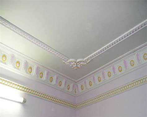 Pop Cornice Plaster Ceiling At Rs 65 /square Feet