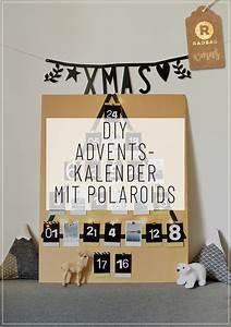 Adventskalender Mit Fotos : dein sch ner polaroid adventskalender selber basteln ~ One.caynefoto.club Haus und Dekorationen