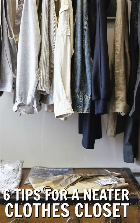 Keep Your Clothes Organised With These 6 Tips For A Tidier