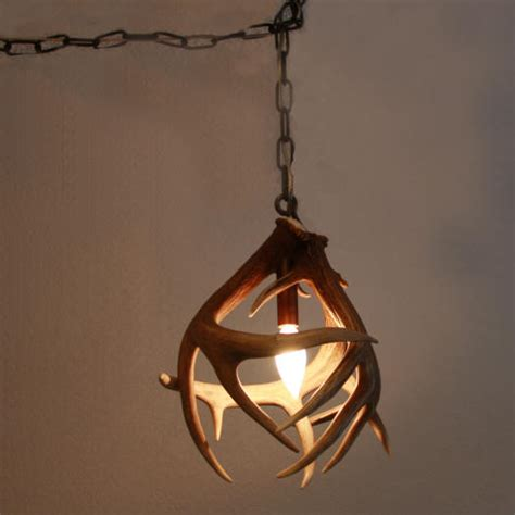 deer antler pendant light pictures to pin on