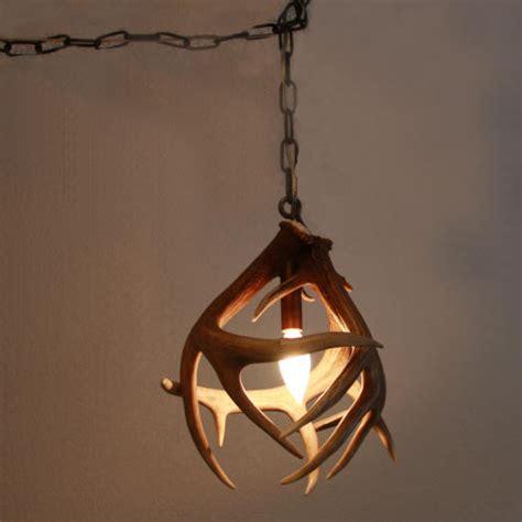 handcrafted deer antler chandeliers and lighting