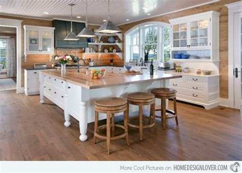 white kitchen island with butcher block top 15 beautiful kitchen island with table attached