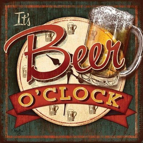 Beer O Clock Meme - posters para imprimir 3 clocks beer art and bar