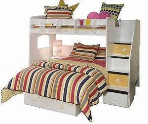 Berg, Loft, Bed, Selections, With, Optional, Features, U2013, Homesfeed