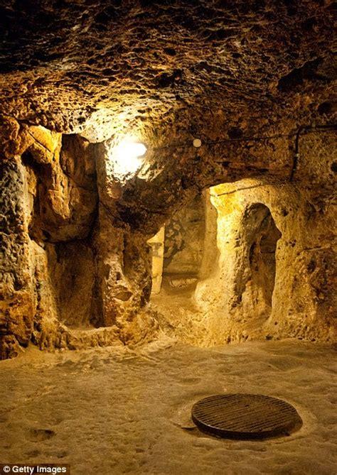 underground city  turkey reveal hidden rooms