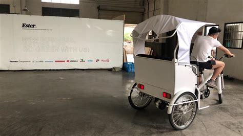 chinese auto 3 wheeler ester motor rickshaw tuk tuk with brand parts electric pedicab taxi buy