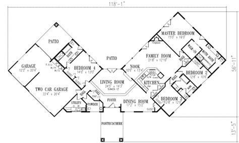 home floor plans  shaped home floor plans