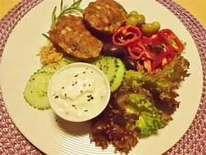 Salat Selber Anbauen : frikadellen mit salat einen dip und chips ~ Markanthonyermac.com Haus und Dekorationen