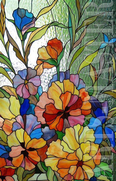 Outline Pictures Of Flowers For Glass Painting