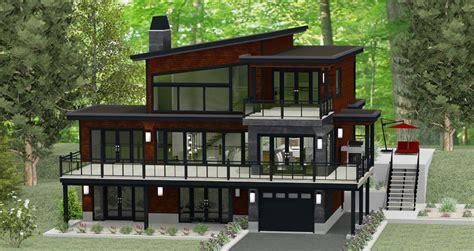 chalet en bois mod 232 28 images maison toit plat prix au m2 12 chalet en bois en kit