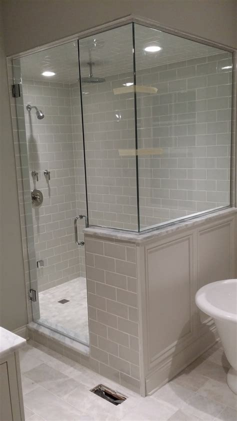 imago glass shower doors installation chicago custom