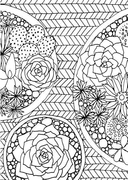 13 Best Succulent & Cactus Coloring Books & Pages | Cute