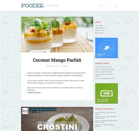 foodies recette cuisine 14 thèmes pour votre site de recettes de cuisine