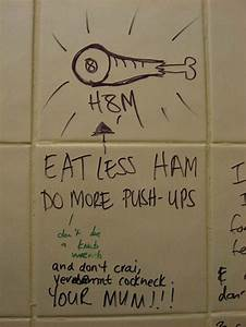 creepy and funny bathroom graffiti With funny bathroom graffiti