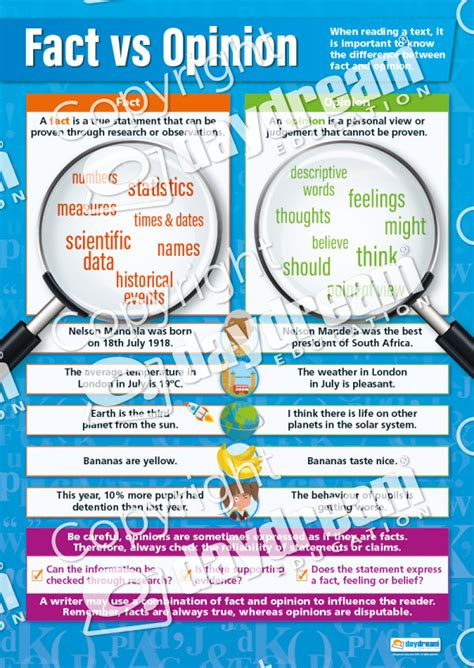 co fact 7 how reliable fact vs opinion english poster