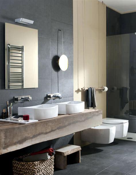 wood  natural stone bathroom interior design ideas