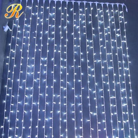 waterfall christmas lights led curtain light buy led