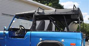66-50200 Canvas Soft Top with Tint Windows and Frame - Soft Top   BC Broncos