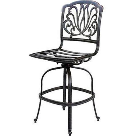 darlee elisabeth 3 cast aluminum patio bistro set patio bar stools swivel set of 3 outdoor darlee cast Inspirational