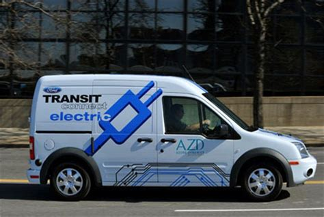UK Company Launches Ford Transit Connect E-Van Repair ...