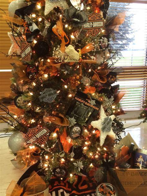 meer   afbeeldingen  harley christmas tree op