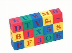 eva foam 15 piece alphabet numbers blocks taiwan With soft letter blocks
