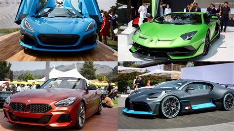 coolest cars  debut  monterey car week pictures