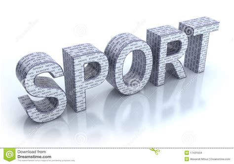sport word stock images image