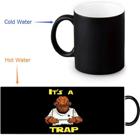It's a beautiful day in the neighborhood, a beautiful day for some coffee and food, won't you be and just like the real fred rogers did every episode of his show, this mug changes into a cardigan well not the mug itself, that would be weird. Star Wars Heat Reveal Mug color change coffee Mug 12 OZ ...