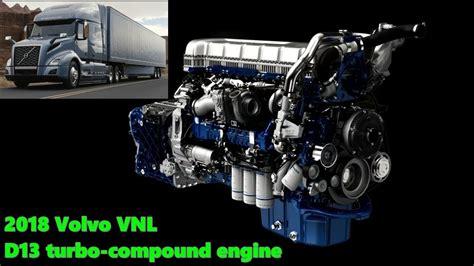 volvo vnl  turbo compound engine youtube