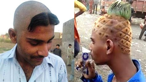 funny hairstyle barbers   world samrat ki