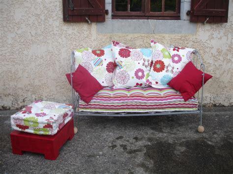 canapé lit en fer forgé atelier idiartia archive canapé en fer forgé et