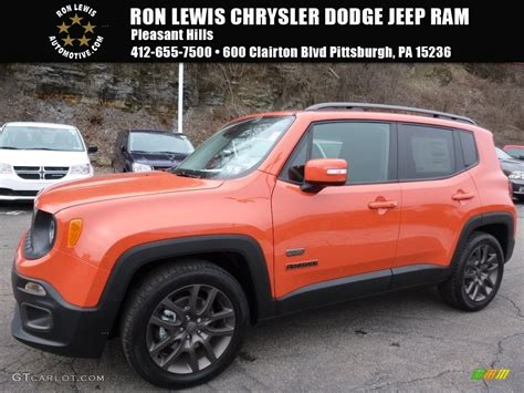 jeep renegade orange 2017 2016 omaha orange jeep renegade latitude 111213697